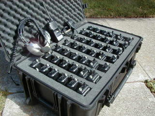 Case of Icom Radios